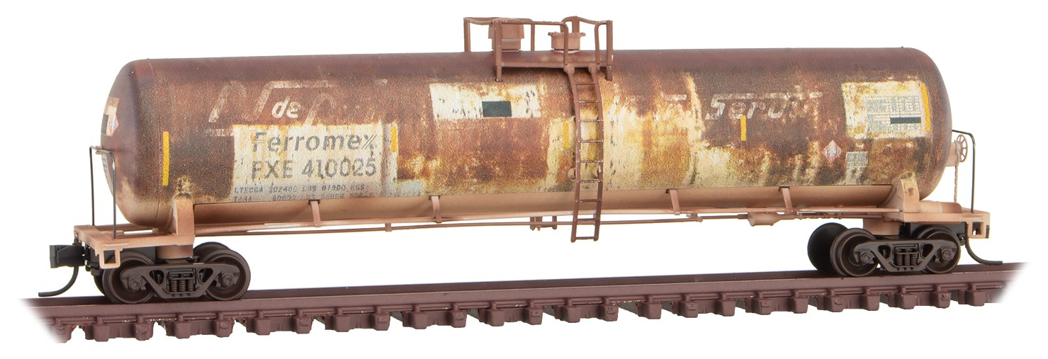 N Scale - Micro-Trains - 110 44 530 - Covered Hopper, 2-Bay, GATX Airslide 4180 - Ferromex - 410025