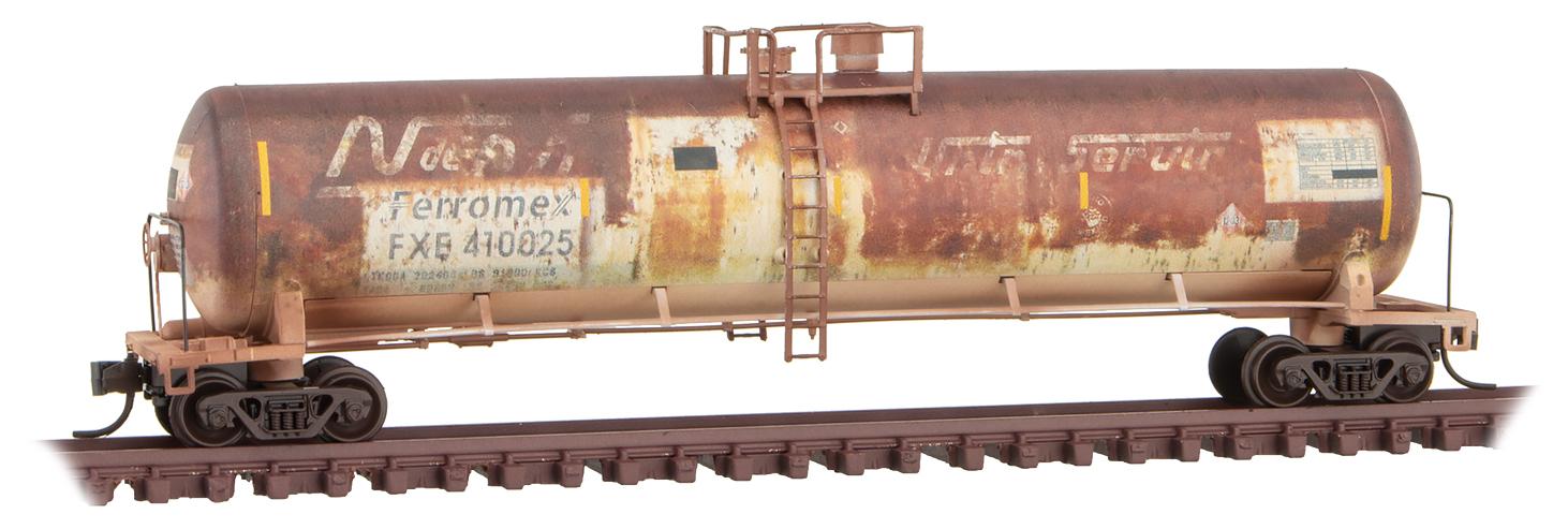N Scale - Micro-Trains - 110 44 530 - Covered Hopper, 2-Bay, GATX Airslide 4180 - Ferromex - 410025