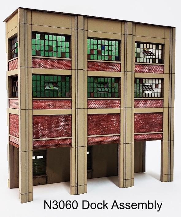 N Scale - ITLA - N3060 - Structure, Building, Industrial, Factory,Warehouse - Industrial Structures