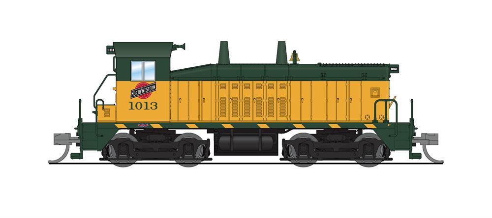 N Scale - Broadway Limited - 3914 - Locomotive, Diesel, EMD NW2 - Chicago & North Western - 1013