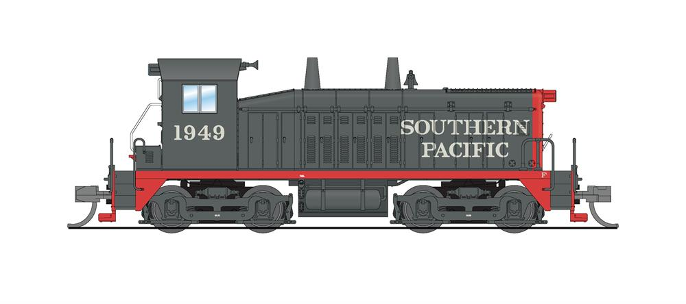 N Scale - Broadway Limited - 3923 - Locomotive, Diesel, EMD NW2 - Southern Pacific - 1949
