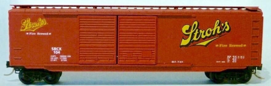 N Scale - Ak-Sar-Ben - 9304B - Boxcar, 40 Foot, PS-1 - Pabst Milwaukee - 104