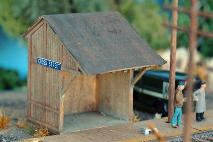 N Scale - NorthEastern Scale Models - 30001 - Structure, Railroad, Shelter - Railroad Structures