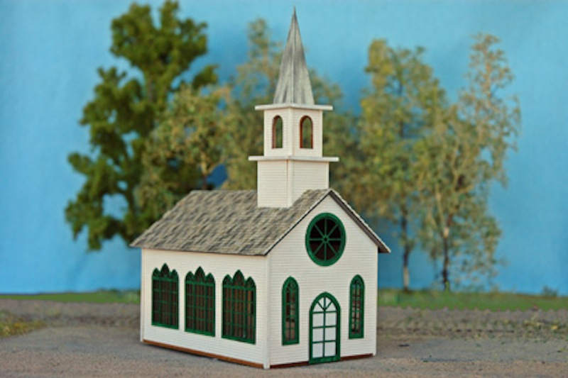 N Scale - NorthEastern Scale Models - 10101 - Structure, Religious, Church - Religious Structures