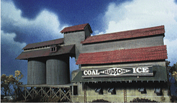 N Scale - NorthEastern Scale Models - 10106 - Structure, Commercial, Ice & Coal - Commercial Structures