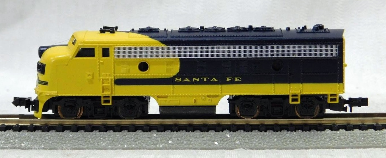 N Scale - Bev-Bel - 15011 - Locomotive, Diesel, EMD F7 - Santa Fe - 273C