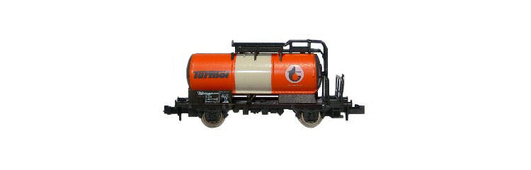 N Scale - Roco - 28003 - Tank Car, No Dome, 2-Axle - Painted/Lettered - 23 81 720 5 503-6