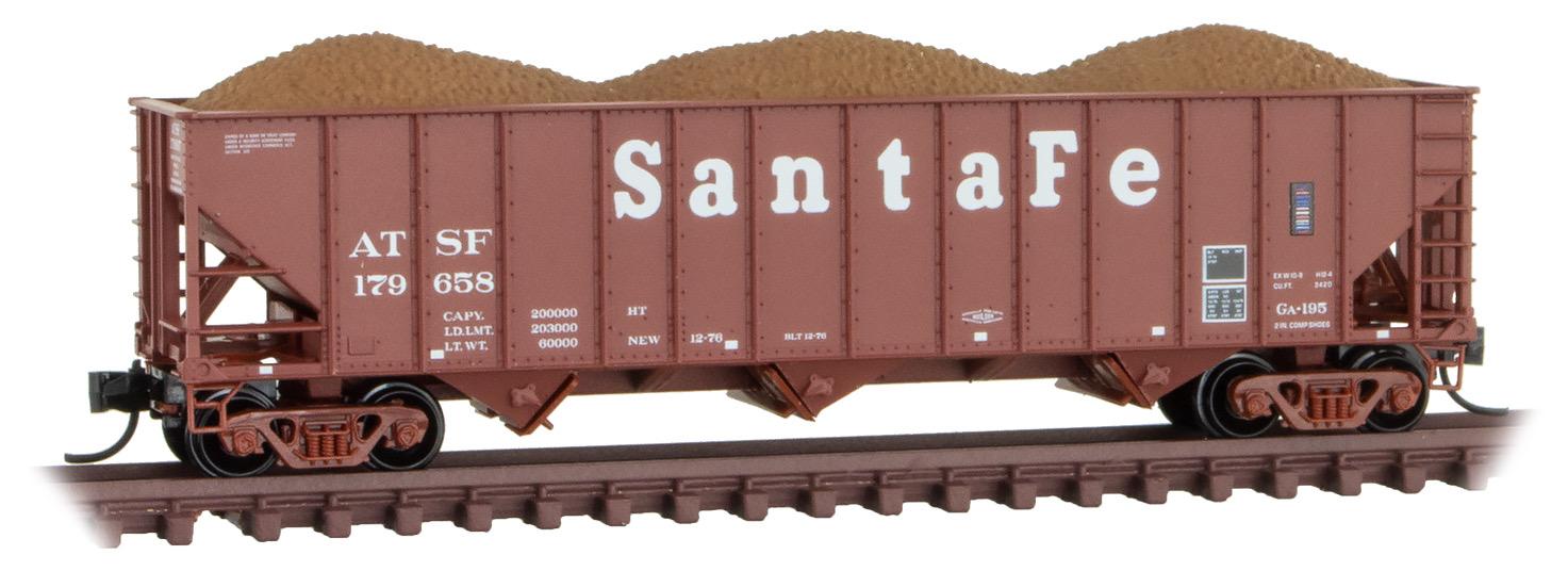 N Scale - Micro-Trains - 108 00 123 - Class HT - Santa Fe - 179658