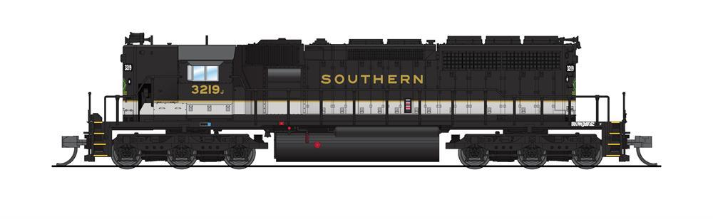N Scale - Broadway Limited - 6216 - Locomotive, Diesel, EMD SD40-2 - Southern - 3219