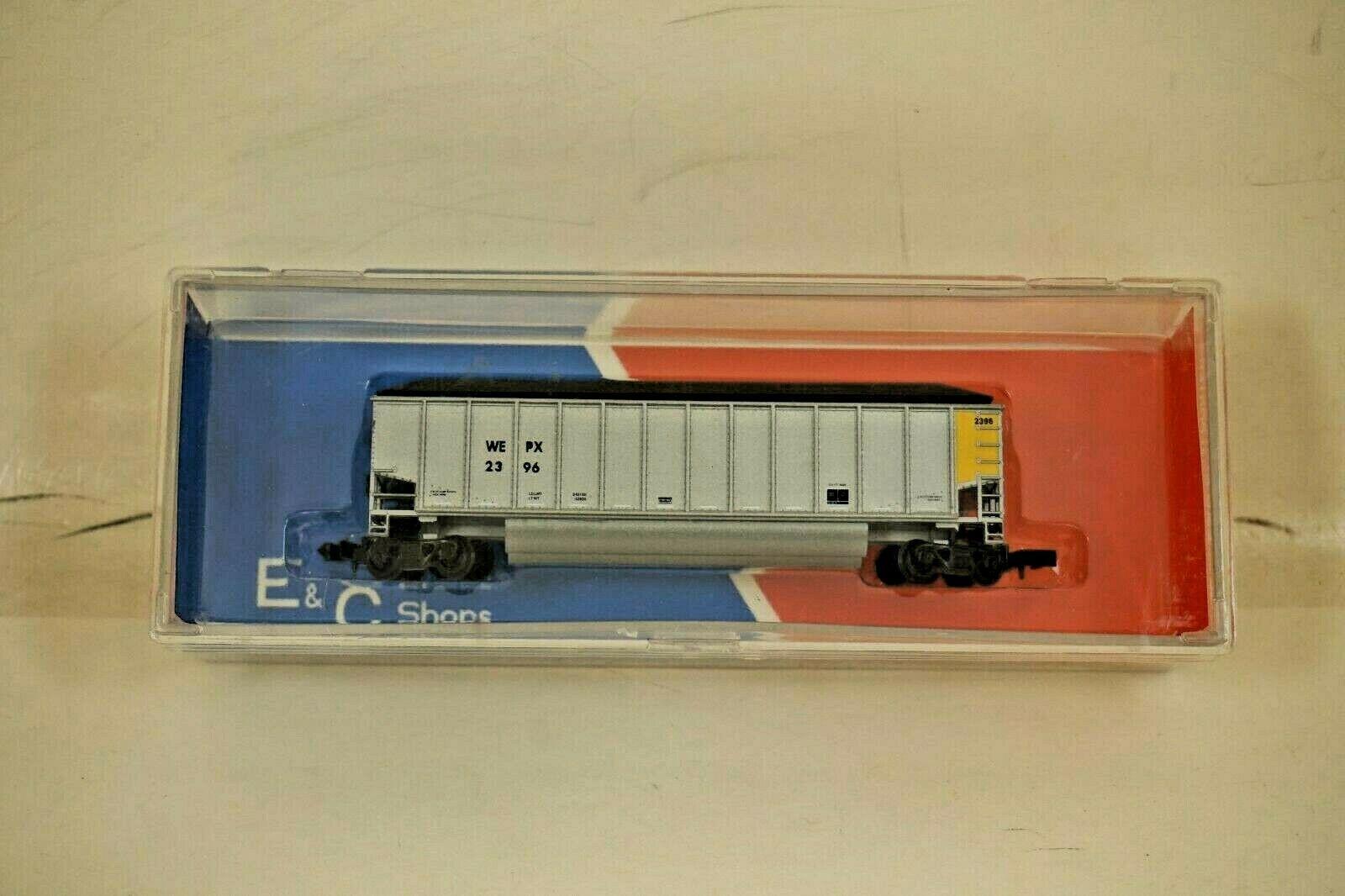 N Scale - E&C Shops - 715 - Gondola, Bathtub, Trinity Rotary  - Wisconsin Electric - 2396