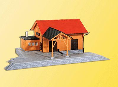 N Scale - Kibri - 37804 - Structure, Railroad, Freight Depot - Railroad Structures
