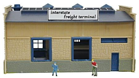 N Scale - Model Power - 2583 - Structure, Commercial, Truck Depot - Commercial Structures