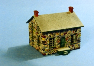 N Scale - Sylvan Scale Models - N-2024 - Structure, Residential, House - Residential Structures