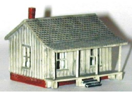 N Scale - Sylvan Scale Models - N-2028 - Structure, Residential, Cabin - Residential Structures