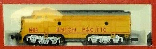 N Scale - Life-Like - 7603-2 - Locomotive, Diesel, EMD F7 - Union Pacific - 1404
