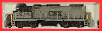 N Scale - Life-Like - 7628-2 - Locomotive, Diesel, EMD GP38-2 - CSX Transportation - 3683