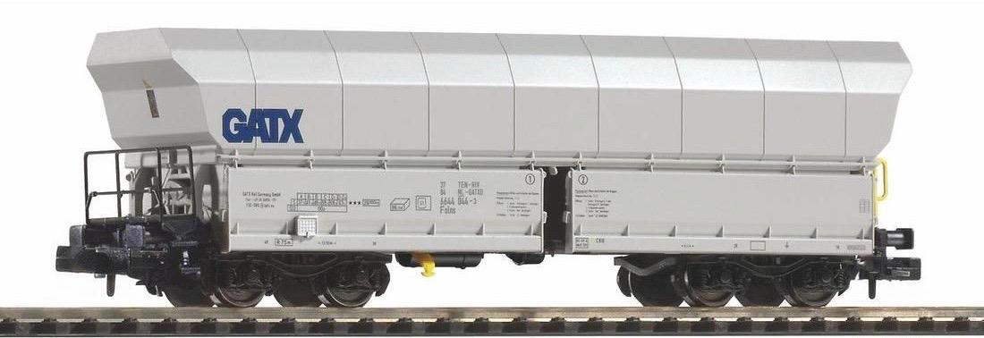 N Scale - Piko - 40715 - Rolling Stock, Hopper, Transwagon - GATX - 6644 044-3
