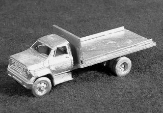 N Scale - C in C - 1606 - Vehicle,Truck, Chevy, C60 - Undecorated
