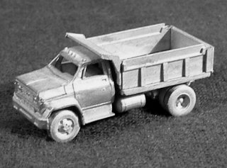 N Scale - C in C - 1607 - Vehicle,Truck, Chevy, C65 - Undecorated