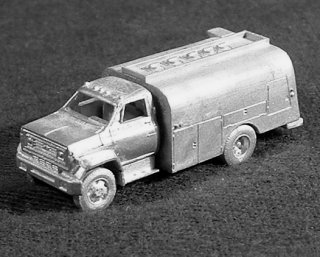 N Scale - C in C - 1608 - Vehicle,Truck, Chevy, C65 - Undecorated