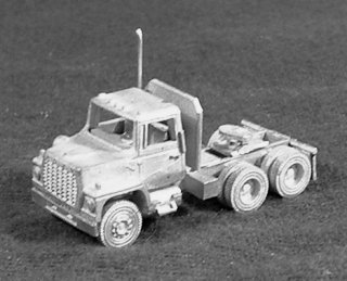 N Scale - C in C - 1628 - Vehicle,Truck, Ford, L8000 - Undecorated