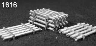 N Scale - C in C - 1616 - Accessory, Details. Pipe Load - Undecorated