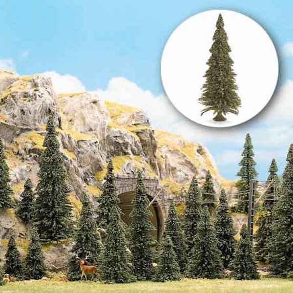 N Scale - Busch - 6576 - Scenery, Tree, Conifer Pine - Scenery