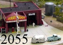 N Scale - Lineside Models - 2055 - Vehicle, Ford, F-100 - Undecorated