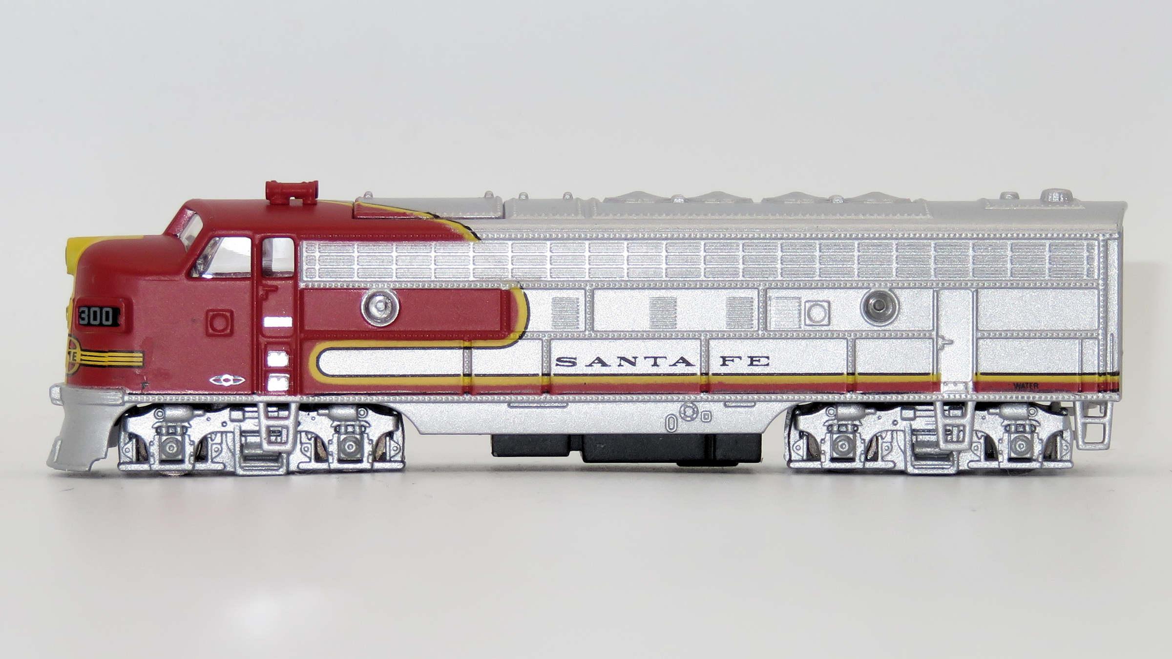 N Scale - Del Prado - Locomotive, Diesel, EMD FP7 - Santa Fe - 300