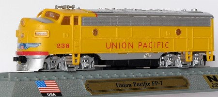 N Scale - Del Prado - 7 - Locomotive, Diesel, EMD FP7 - Union Pacific - 238