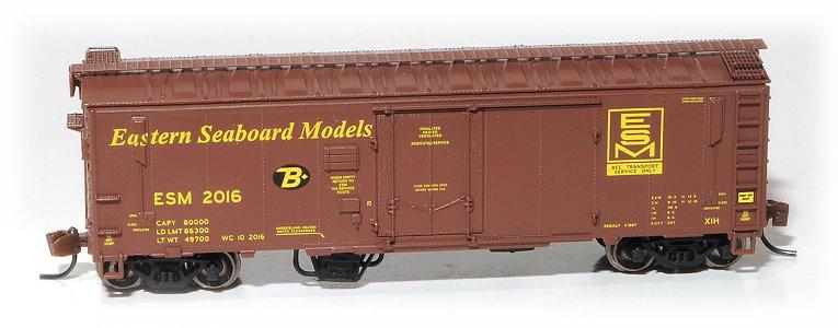 N Scale - Eastern Seaboard Models - 002016 - Boxcar, 40 Foot, XIH - Eastern Seaboard Models - 2016
