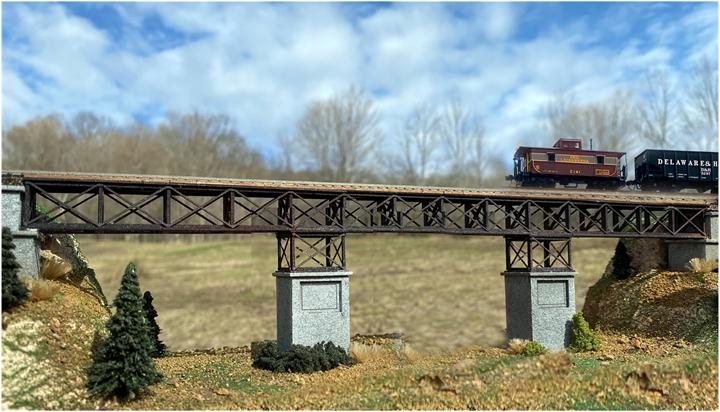 N Scale - N Scale Architect - 10055 - Structure, Bridge, Lattice Truss , Single - Bridges and Piers
