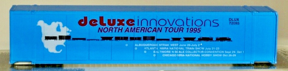 N Scale - Deluxe Innovations - North American Tour 1995 48