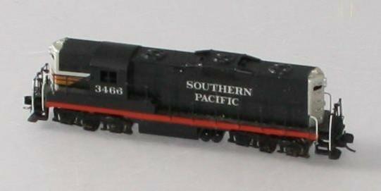 N Scale - Hallmark Models - 3466 - Locomotive, Diesel, EMD GP9 - Southern Pacific - 3466