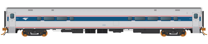 N Scale - Rapido Trains - 528030 - Passenger Train, Bombardier, Horizon Dinette - Amtrak - 53507
