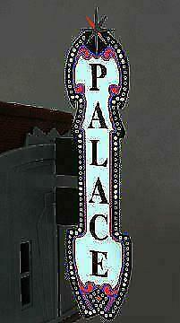 N Scale - Miller Engineering - 5982 - Structure, Billboard - Painted/Lettered - Palace Theater