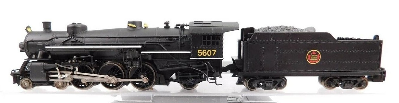N Scale - Model Power - 7406 - Locomotive, Steam, 4-6-2, Pacific - Canadian National - 5607