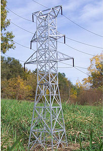 """N Scale - Osborn Models - RRA-3080 - Accessories, Details, Hydro Towers - Undecorated - 120"""" Hydro Towers"""