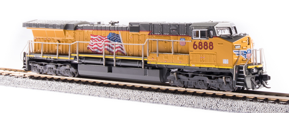 N Scale - Broadway Limited - 6282 - Locomotive, Diesel, GE AC6000CW - Union Pacific - 6888