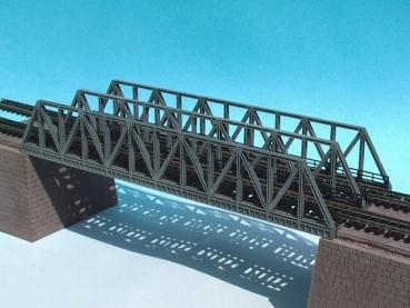 N Scale - Luetke - 66 662 - Structure, Bridge, Lattice Girder, Double Track - Bridges and Piers