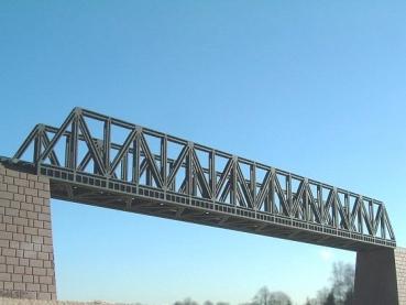 N Scale - Luetke - 66 608 - Structure, Bridge, Lattice Girder, Single Track - Bridges and Piers