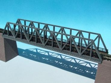 N Scale - Luetke - 66 602 - Structure, Bridge, Lattice Girder, Single Track - Bridges and Piers
