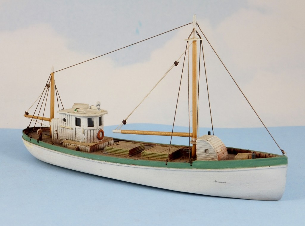 N Scale - Sea Port Model Works - H114-N - Boat, Sardine Carrier - Undecorated