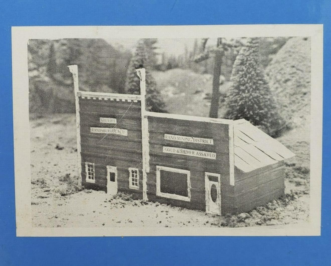 N Scale - Muir Models - 553 - Structure, Municipal, Sheriff Office, Police - Municipal Structures - Sheriff