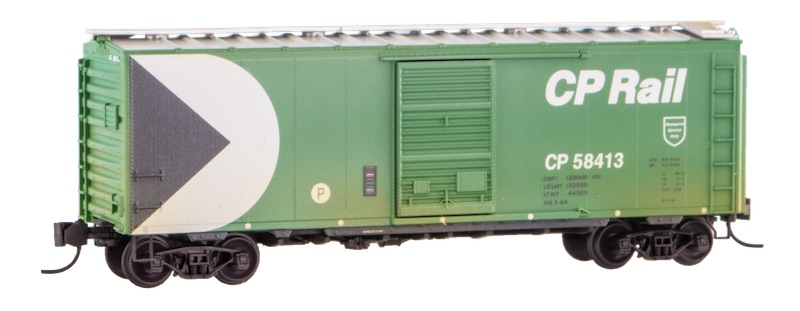 N Scale - Micro-Trains - NSE MTL 20-36 - Boxcar, 40 Foot, PS-1 - Canadian Pacific - 58413
