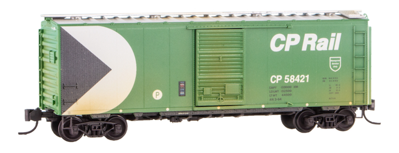 N Scale - Micro-Trains - NSE MTL 20-37 - Boxcar, 40 Foot, PS-1 - Canadian Pacific - 58421