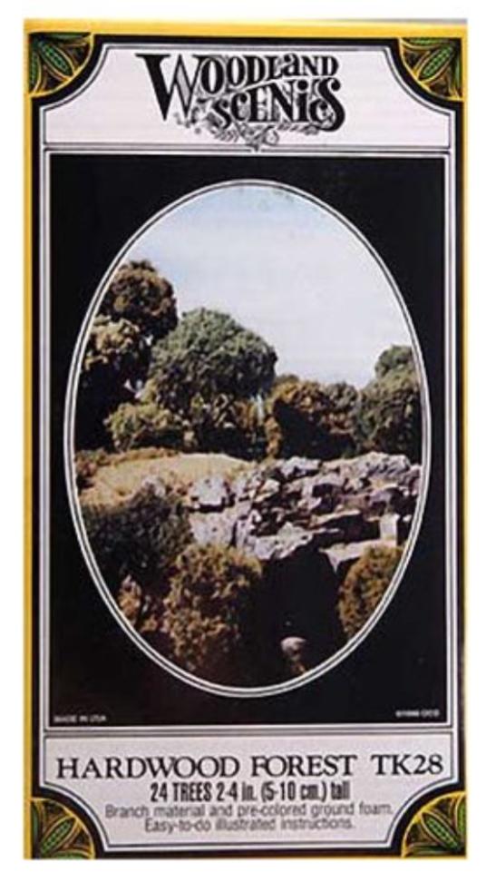 N Scale - Woodland Scenics - TK28 - Scenery - Scenery - 24 Trees
