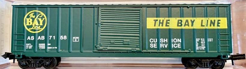 N Scale - Brooklyn Locomotive Works - BLW-151 - Boxcar, 50 Foot, FMC, 5347 - Bay Line - 7158