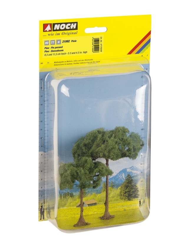 N Scale - Noch - 21992 - Scenery, Trees, Stone Pines - Scenery - Stone Pines