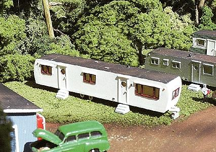 N Scale - NuComp Miniatures - 610 - Painted/Unlettered